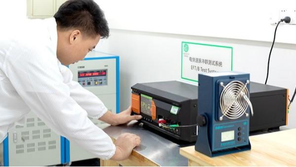 电快速脉冲群测试